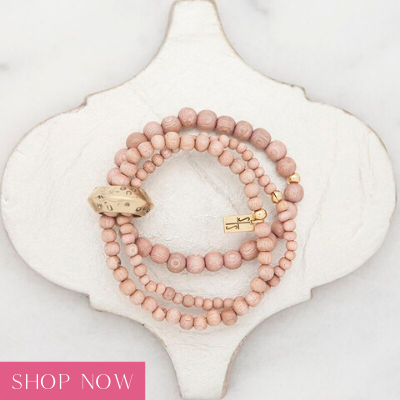 Shop our rose multi strand bracelet