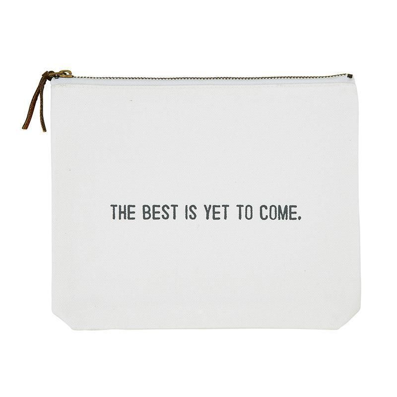Canvas Zipper Pouch - 3 options-White Pier Gifts
