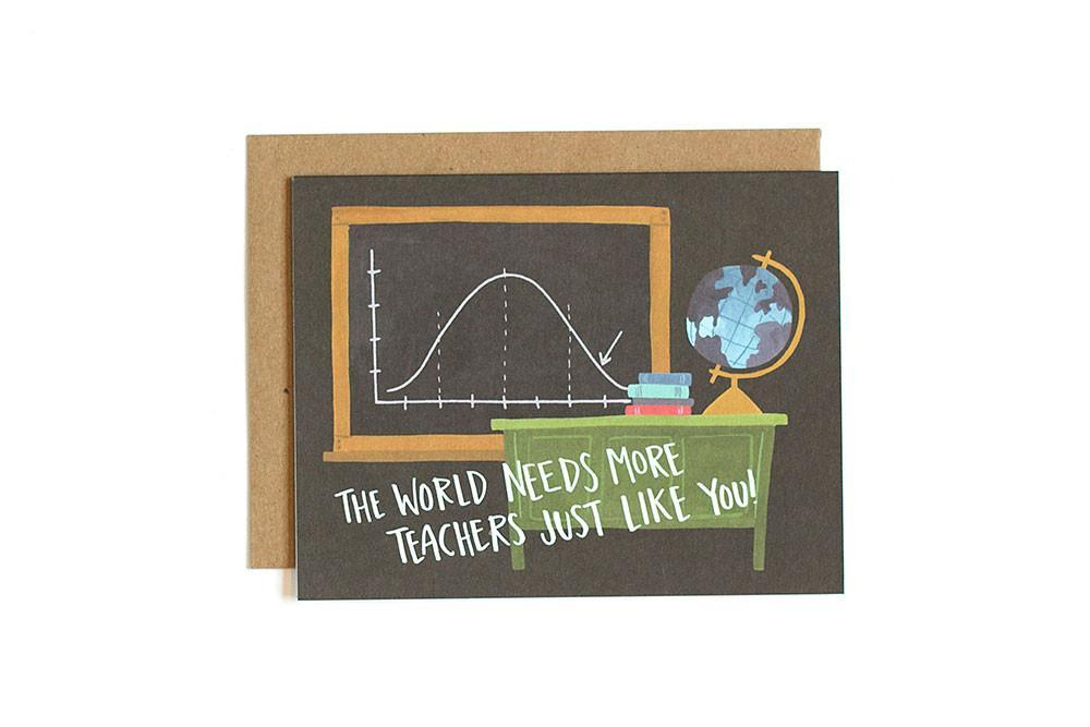Card - Teacher Appreciation Card-White Pier Gifts