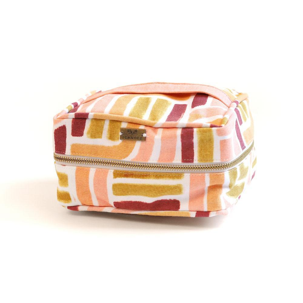 Cosmetic Pouch - Sunset Stripe-White Pier Gifts