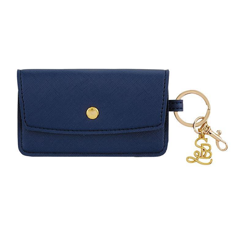 Credit Card Pouch in Navy- Hush Money-White Pier Gifts