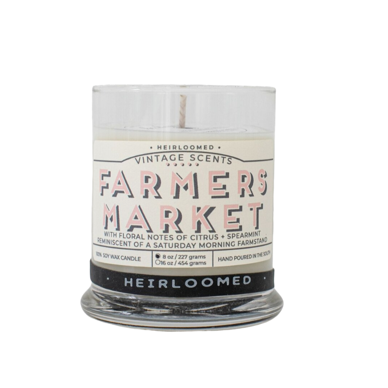 Farmer's Market Candle by Heirloomed Collection-White Pier Gifts