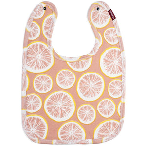 Traditional Bib - Grapefruit by Milkbarn-White Pier Gifts