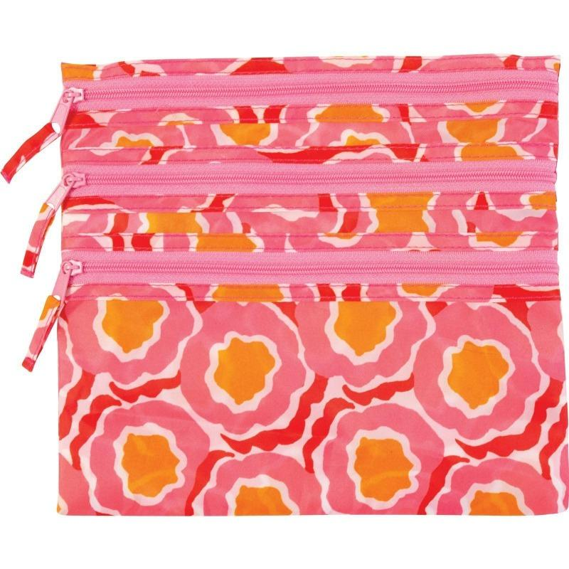 Travel Organizer Pouch - Pink-White Pier Gifts