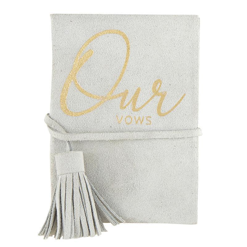 Vow Book-White Pier Gifts