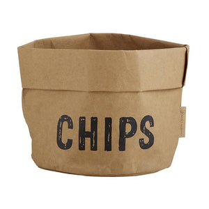 Washable Condiment Holders - Chips, Guac, Salsa-White Pier Gifts