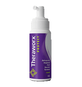 Theraworx Protect Foam 8oz Size
