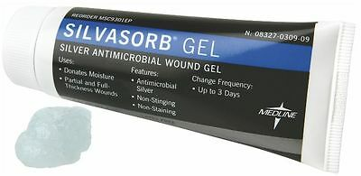 SilvaSorb Antimicrobial Wound Gel