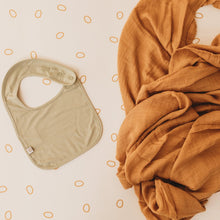 Load image into Gallery viewer, BABY SWADDLE/WRAP - ORGANIC BAMBOO MUSLIN - GINGER