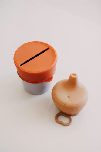 DOVE & DOVELET - SIPPY/SNACK LID SET - AUTUMN