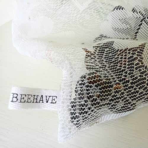 BEEHAVE REUSABLE NATURAL PRODUCE BAGS - SET OF 3