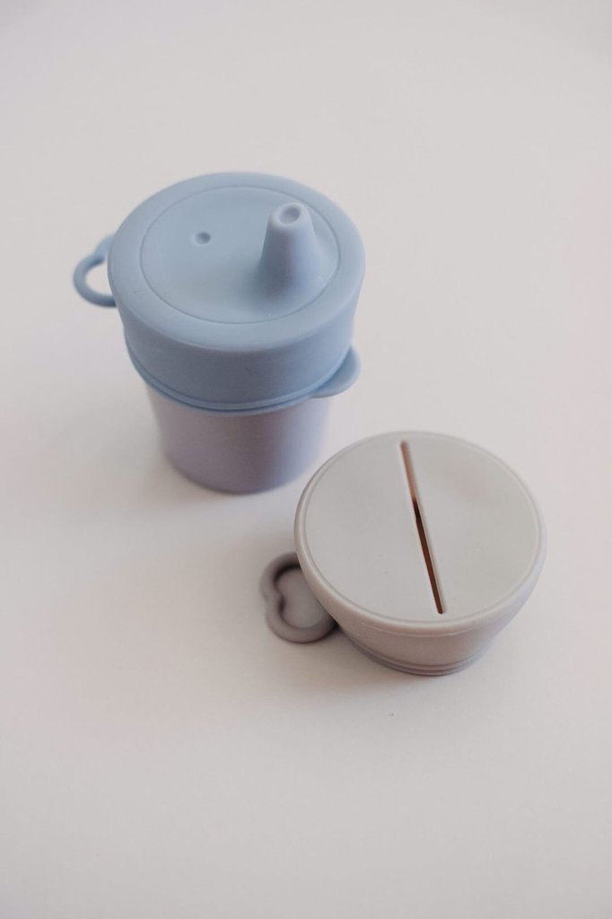DOVE & DOVELET - SIPPY/SNACK LID SET - SUMMER