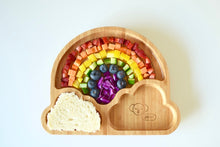 Load image into Gallery viewer, EMONDO KIDS - RAINBOW PLATE WITH SUCTION