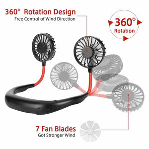 2020 New Portable Hanging Neck Fan - Buy 2 Get Free Shipping