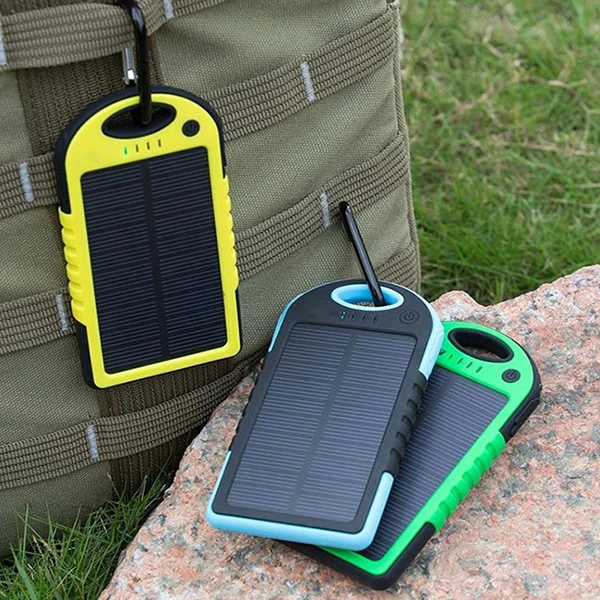 5,000 MAH High Speed 2 Port Solar Charger