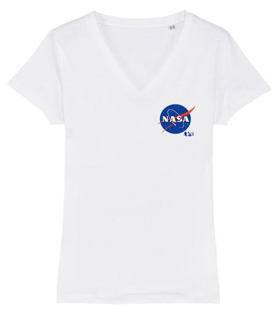 Nasa logo cœur - bogossgenius