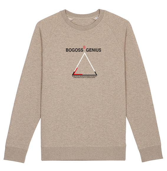 Sweat-shirt sand Logo Triangle Bogoss Genius® - bogossgenius
