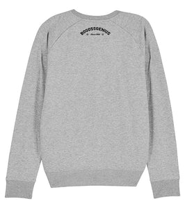 Sweatshirt gris Be the Best - bogossgenius
