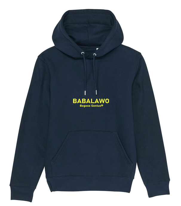 Babalawo sweatshirt french navy - bogossgenius
