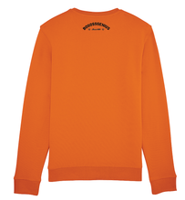 Charger l'image dans la galerie, Sweat orange à message Be The Best - bogossgenius