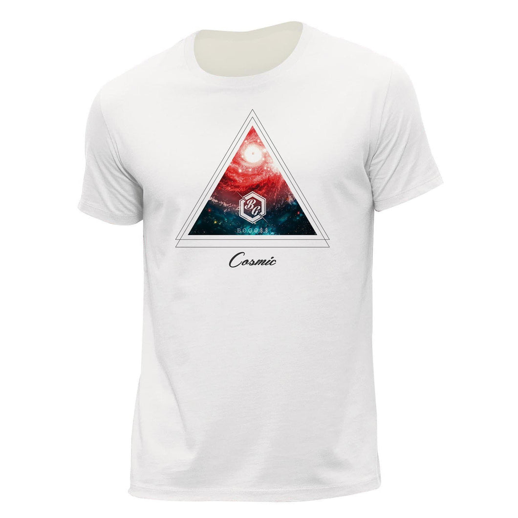 T-shirt Cosmic Imprimé - bogossgenius