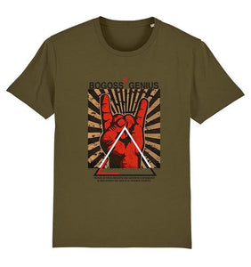 FINGERS T-SHIRT IMPRIME - bogossgenius