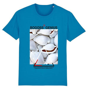 T-shirt bleu cauris - bogossgenius