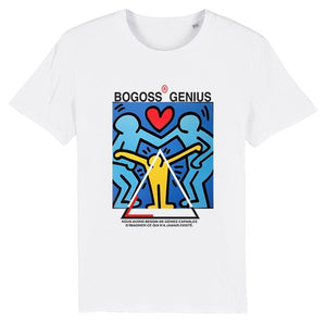 T-shirt Street Art Keith Haring - bogossgenius