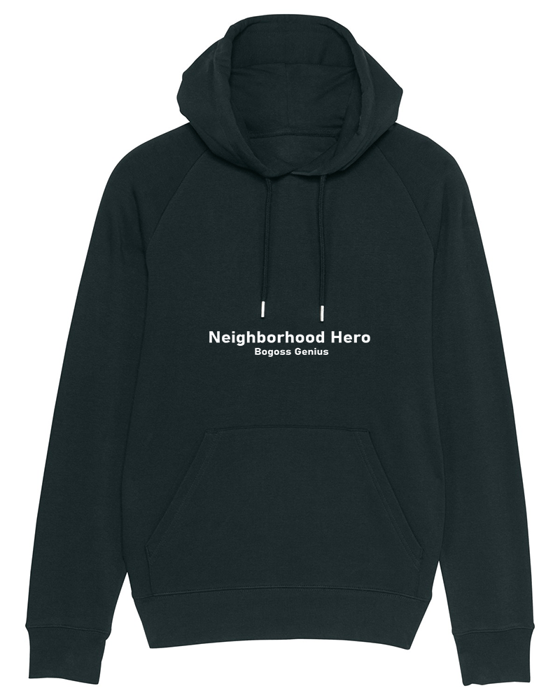 Neighborhood Hero sweat capuche noir - bogossgenius