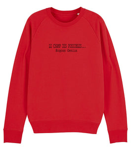 Le champ des possibles bg sweat-shirt - bogossgenius