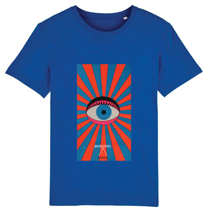 I can see all t-shirt bleu roi - bogossgenius