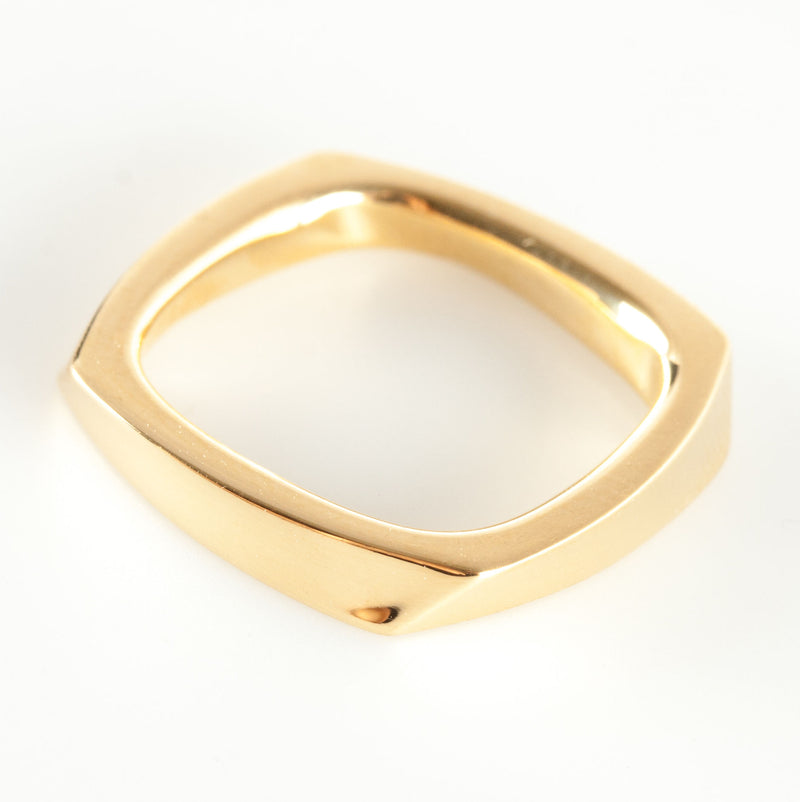 Tiffany & Co 18k Yellow Gold Torque Twist Style Band / Ring 5.6g Size 5