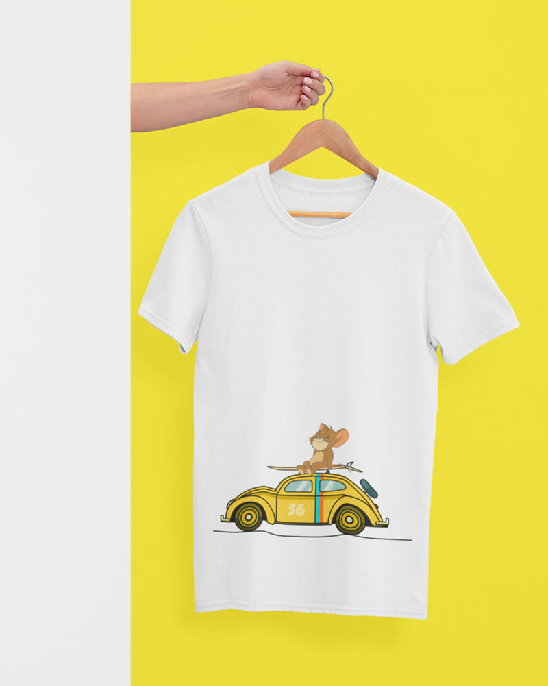Jerry with a car T-Shirt