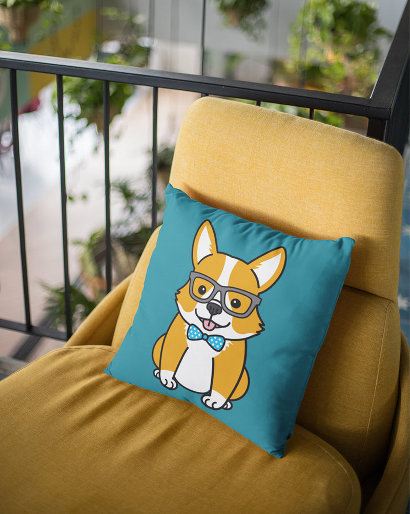 Cute puppy Cushion Cover
