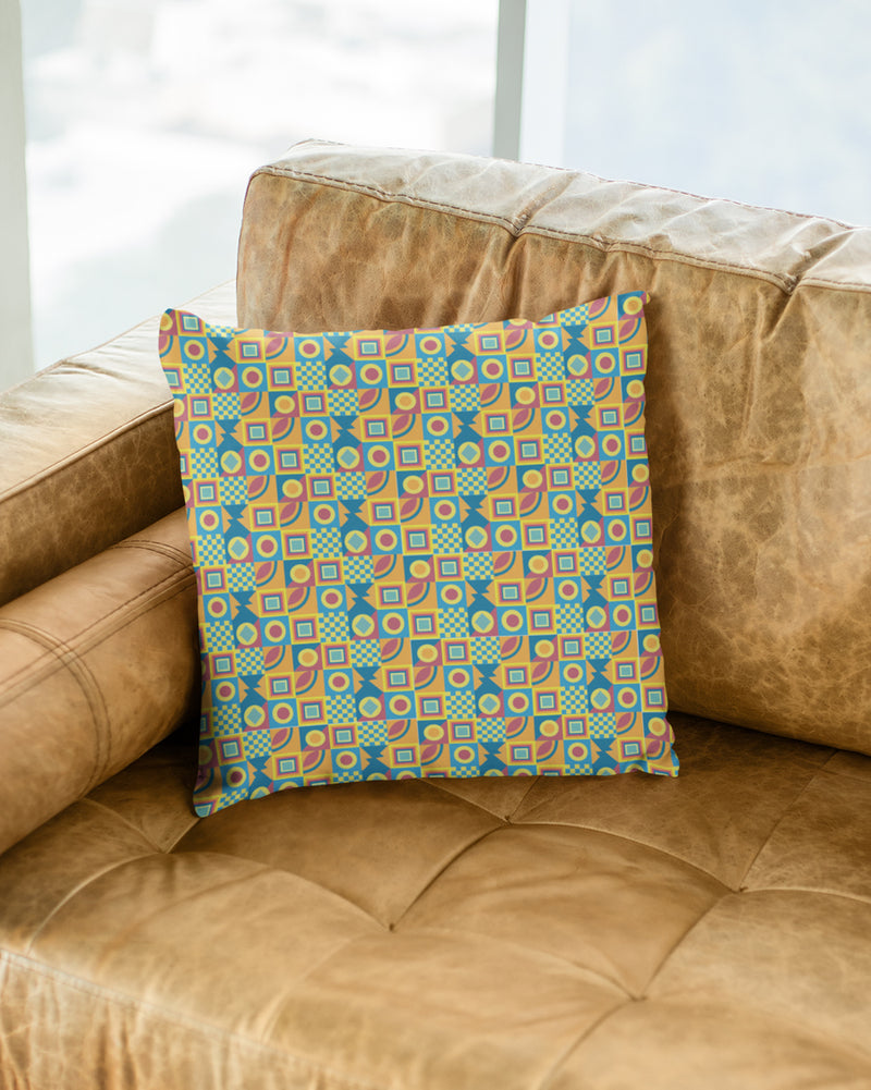 Geometrical pattern Cushion Cover