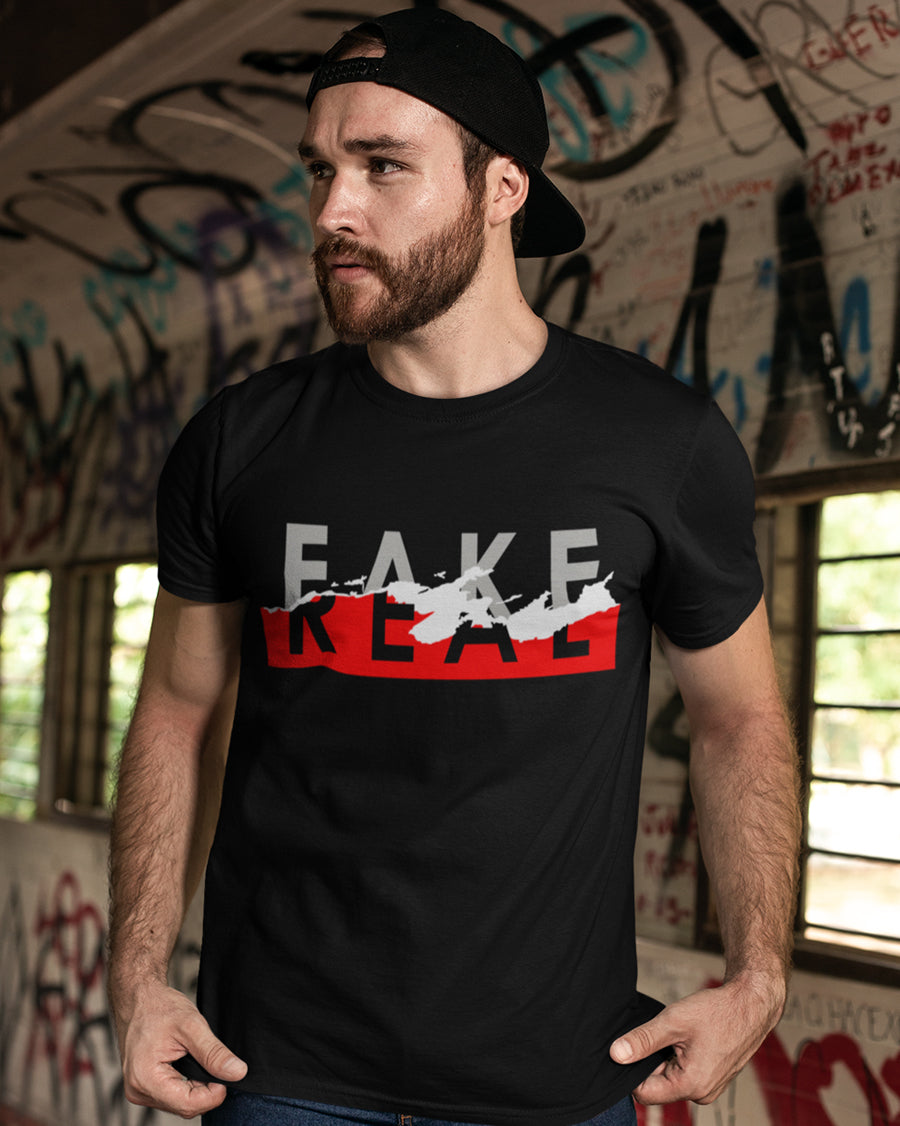 Fake Real Half Sleeve T-shirt
