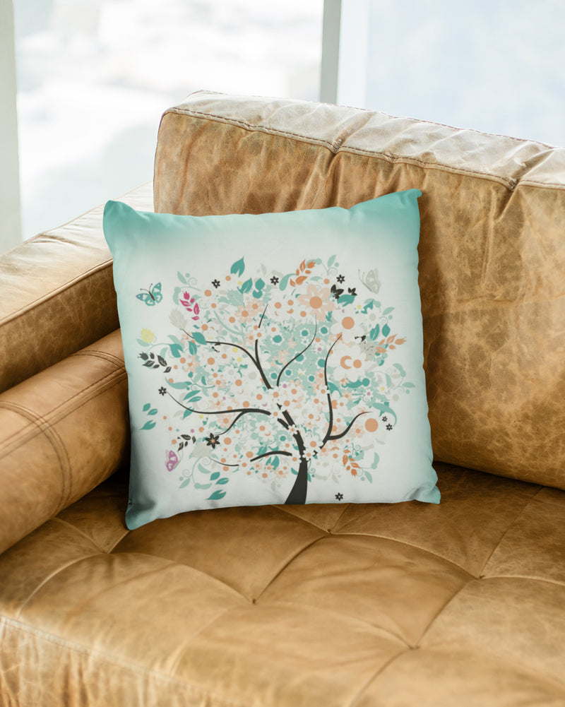 Tree Cushion Cover