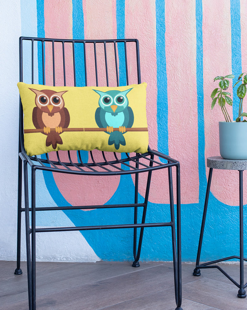 2 Owl pillow cover