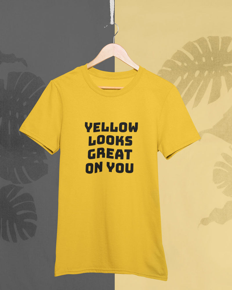 Yellow looks great on you