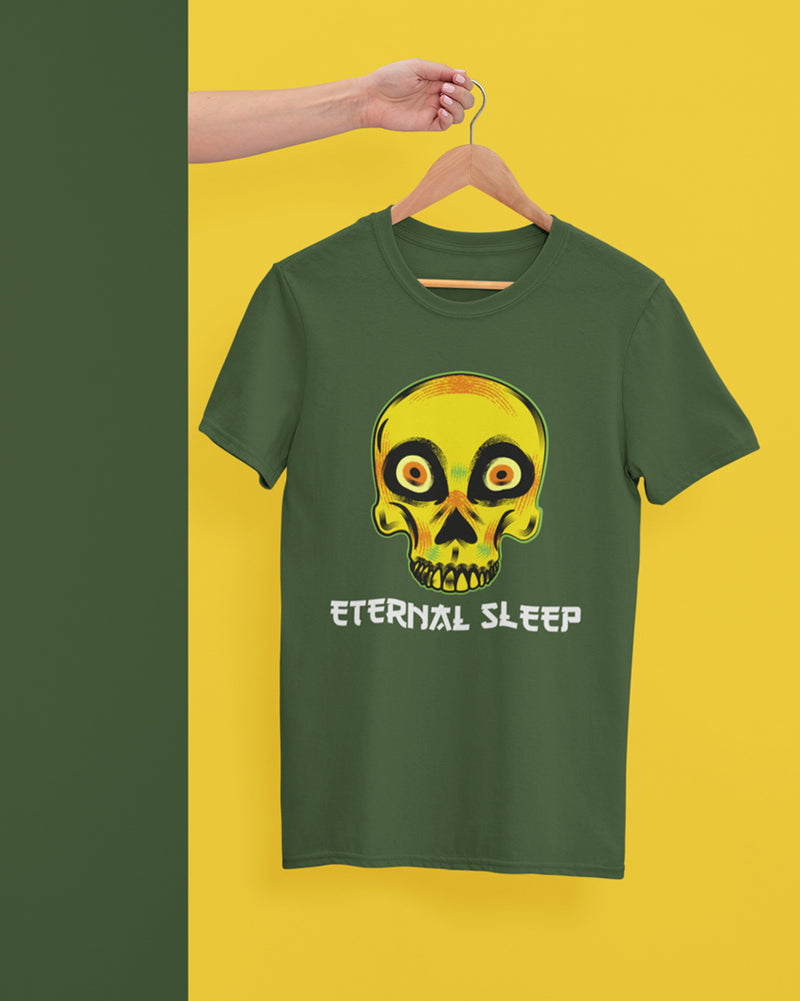 Eternal sleep Half Sleeve T-Shirt