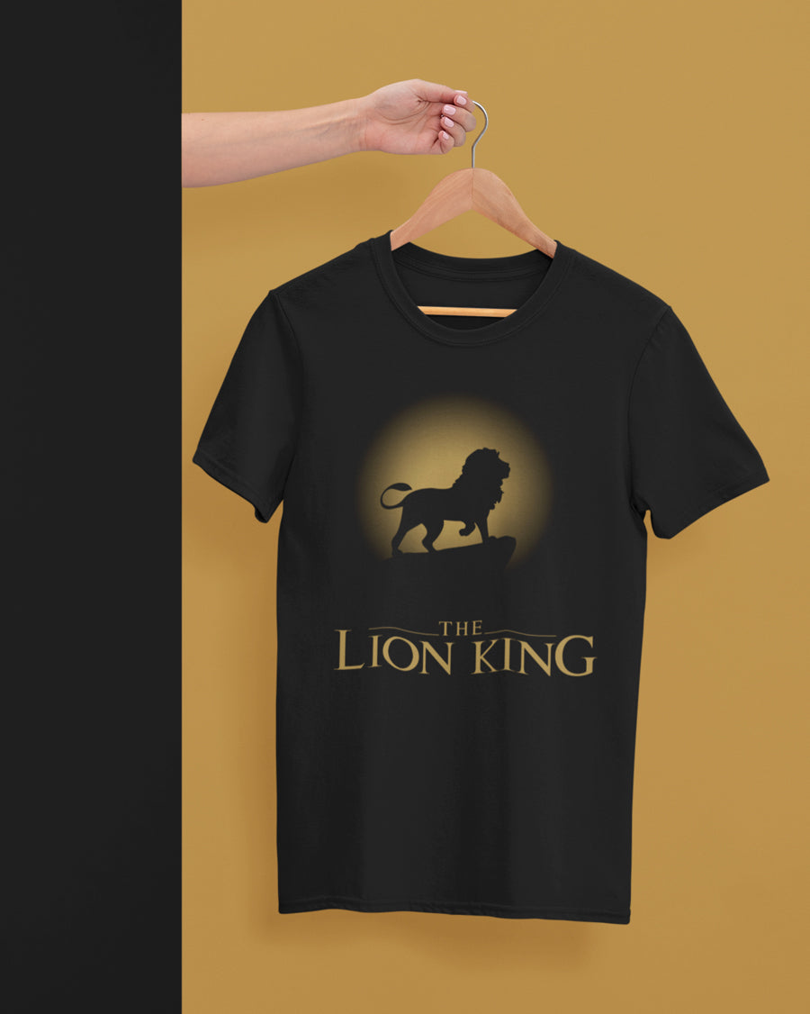 The lion king Half Sleeve T-Shirt