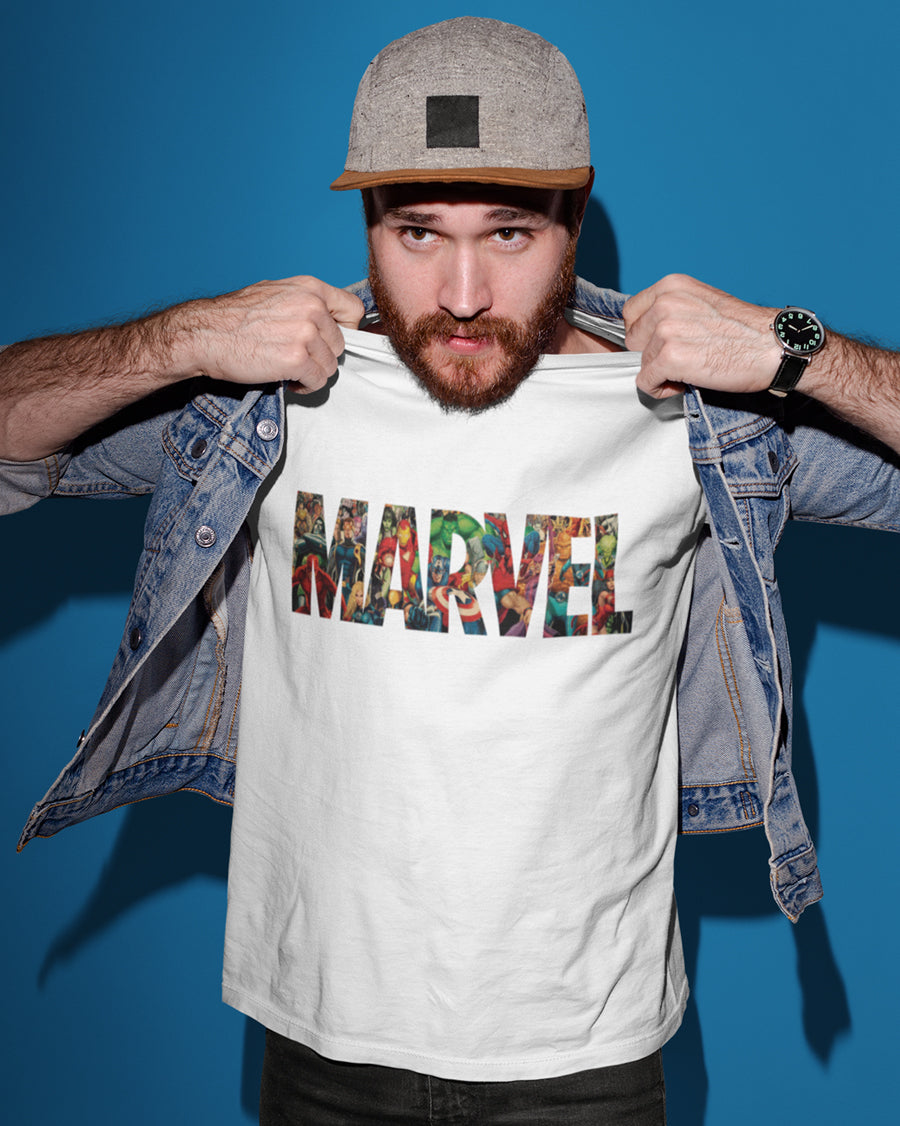 Marvel Half Sleeve T-Shirt
