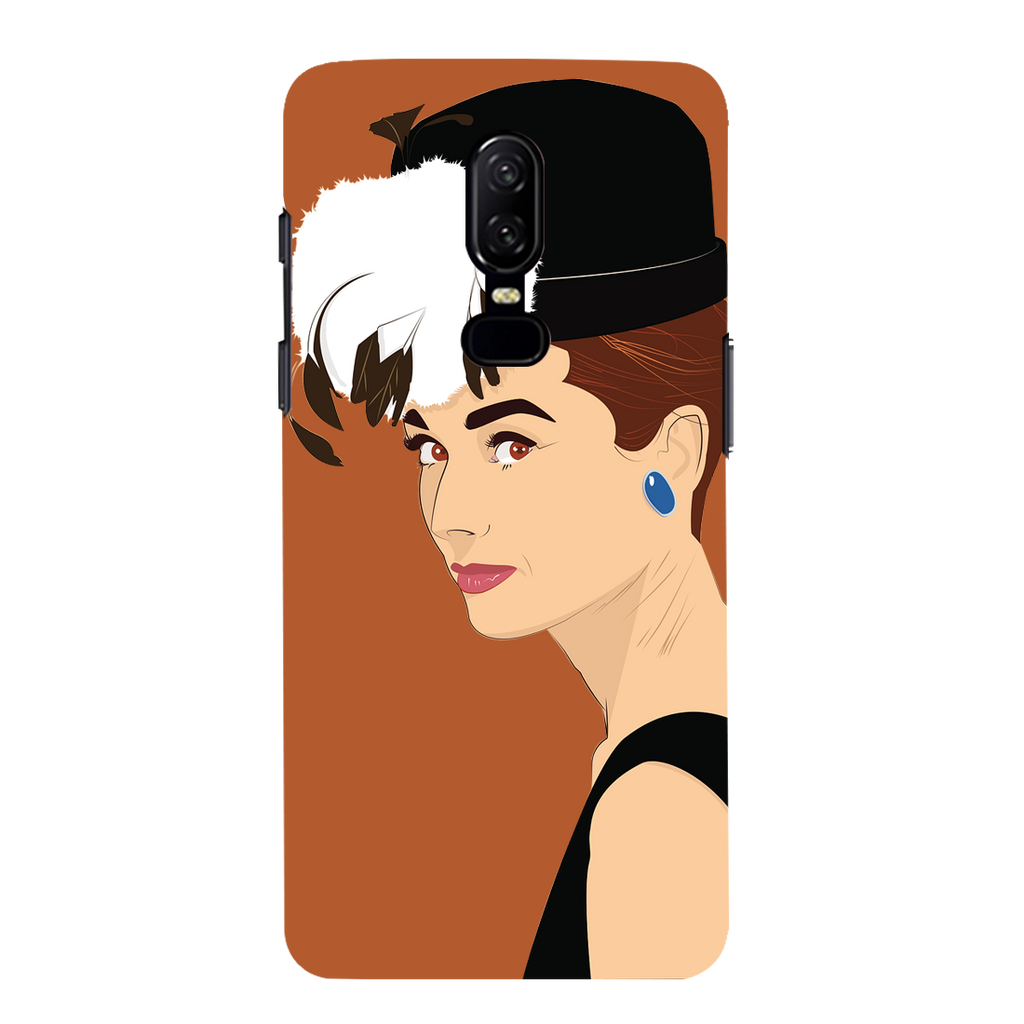 Audrey Hepburn OnePlus 6 Mobile Cover