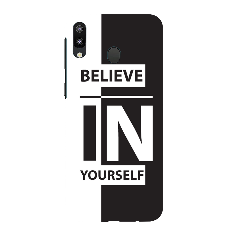 Believe in urself Samsung galaxy m 20 Mobile Cover