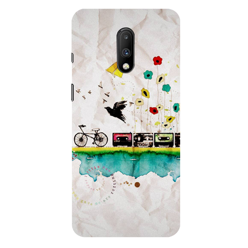 Cycle OnePlus 7 Mobile Cover