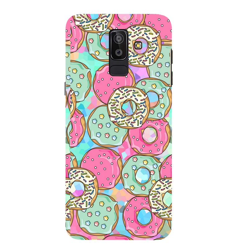 Donuts Samsung J 8 Mobile Cover