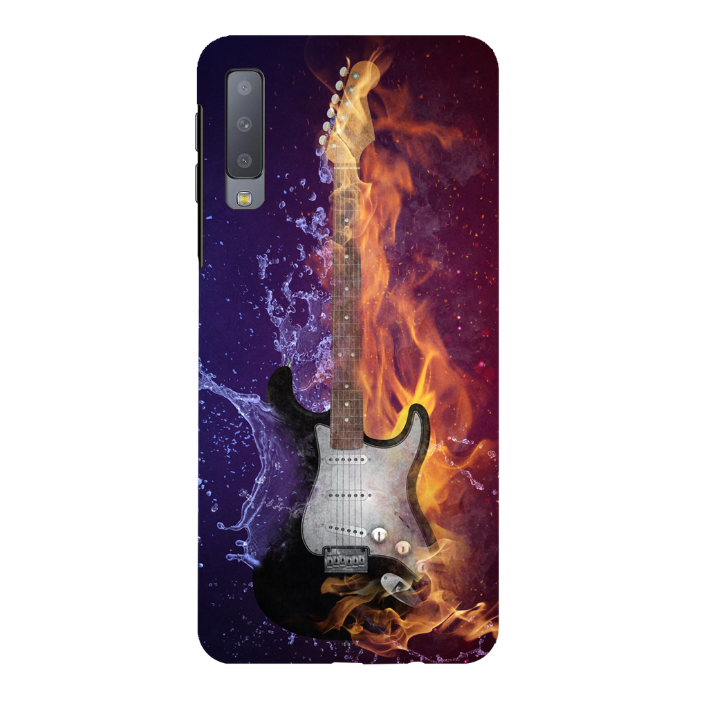 Fire Vs Water Samsung A7 Mobile Cover