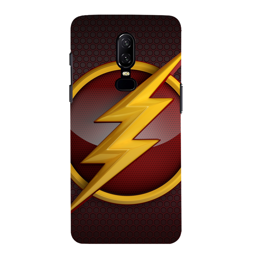 Flash OnePlus 6 Mobile Cover