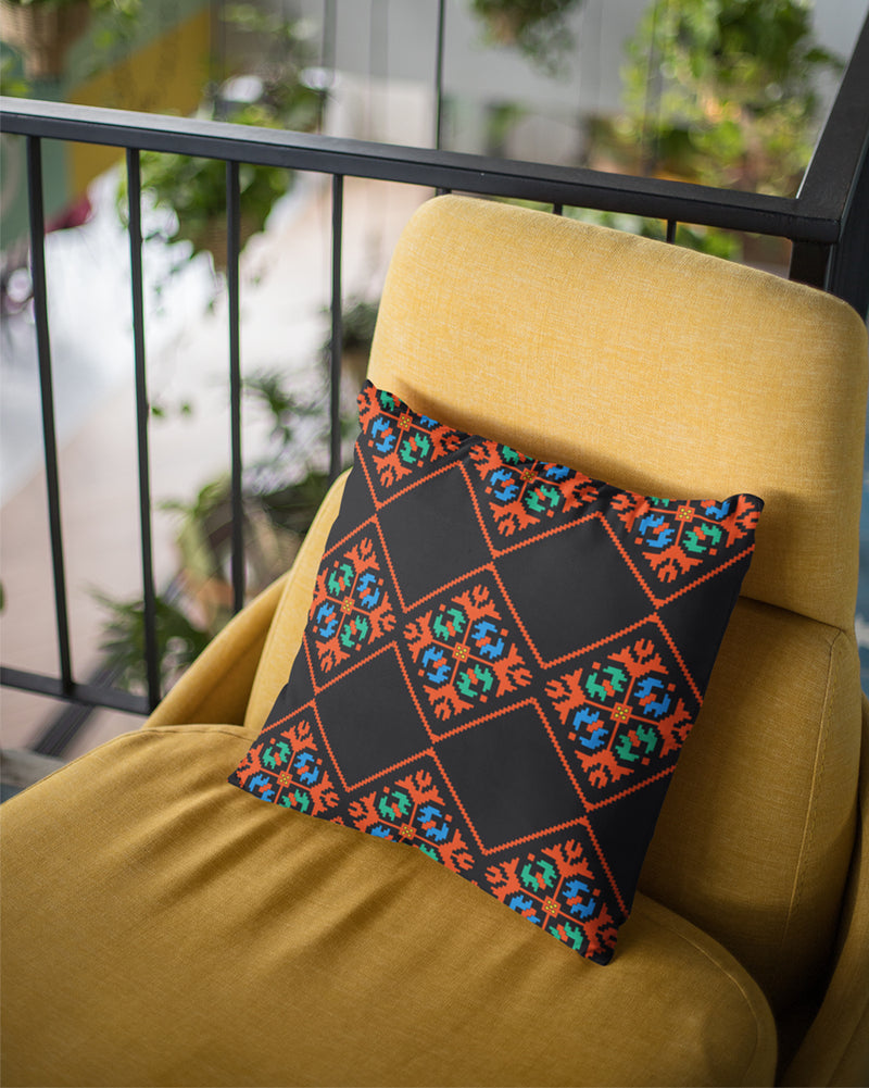 Geometric colored pattern 2 Cushion Cover