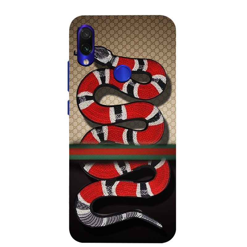 Gucci snake Redmi Note 7 Mobile Cover